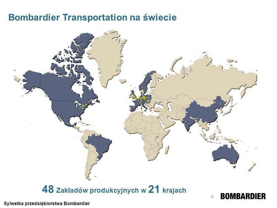 48 Zakładów produkcyjnych w 21 krajach