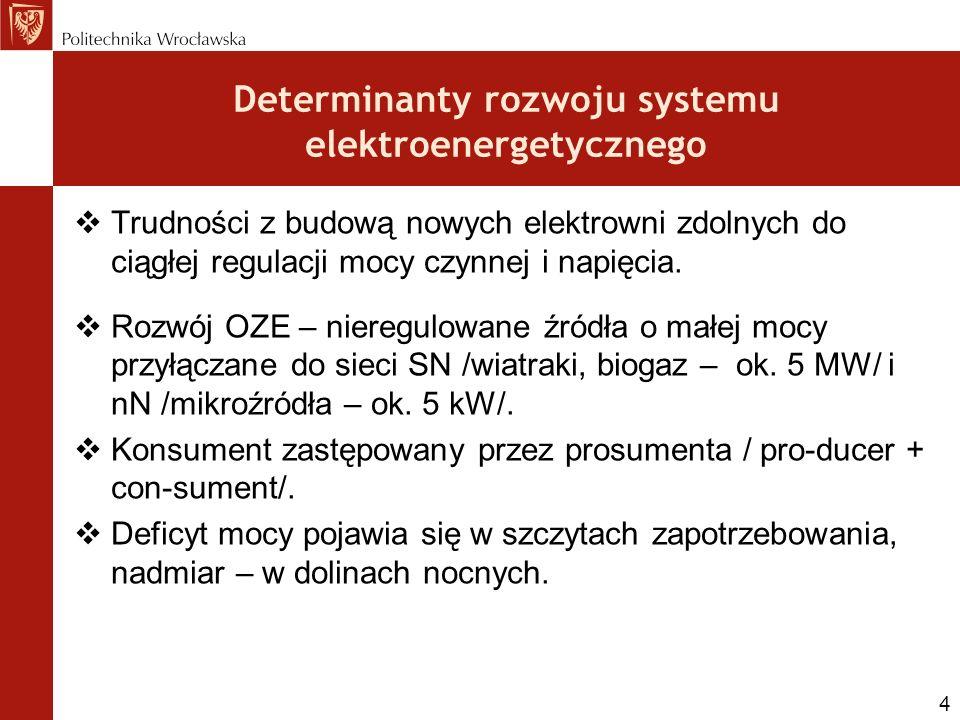 Determinanty rozwoju systemu elektroenergetycznego