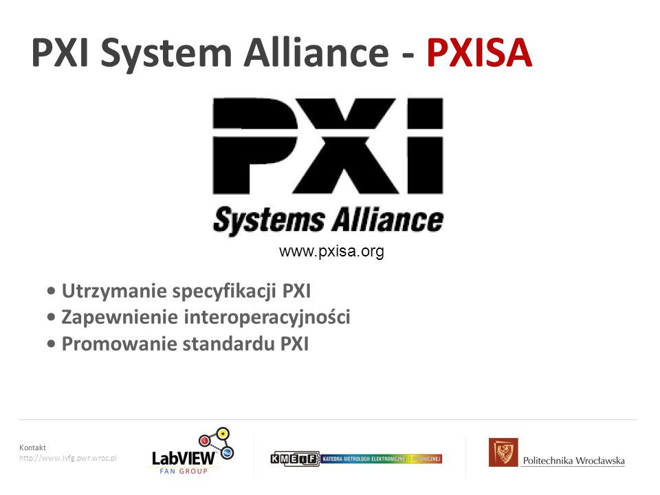 PXI System Alliance - PXISA