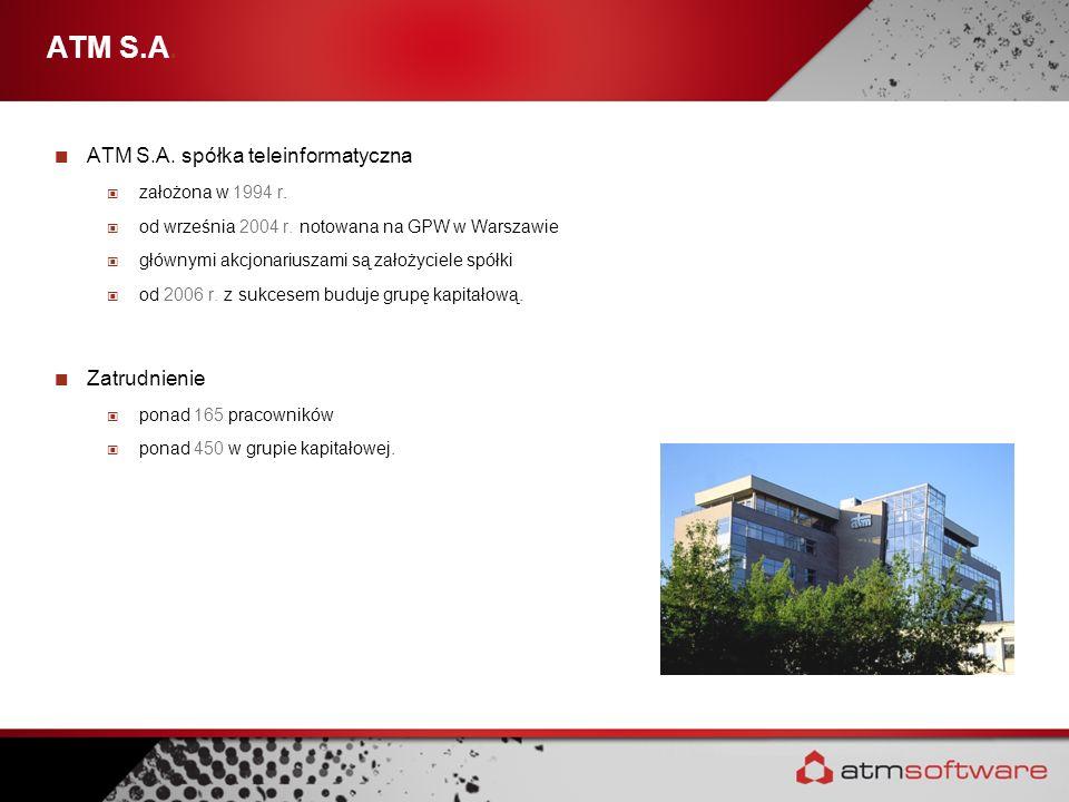 ATM S.A. ATM S.A. spółka teleinformatyczna Zatrudnienie