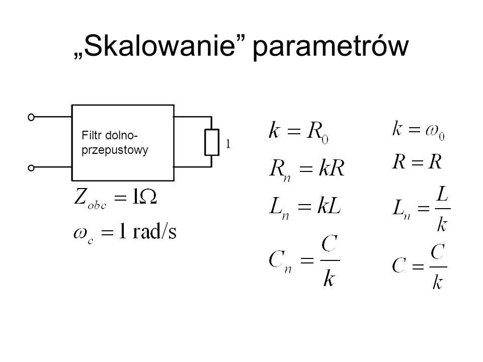 """""""Skalowanie parametrów"""