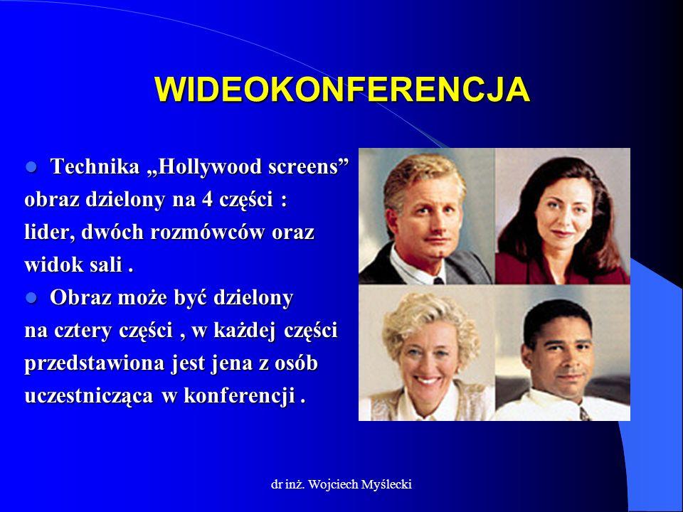 dr inż. Wojciech Myślecki