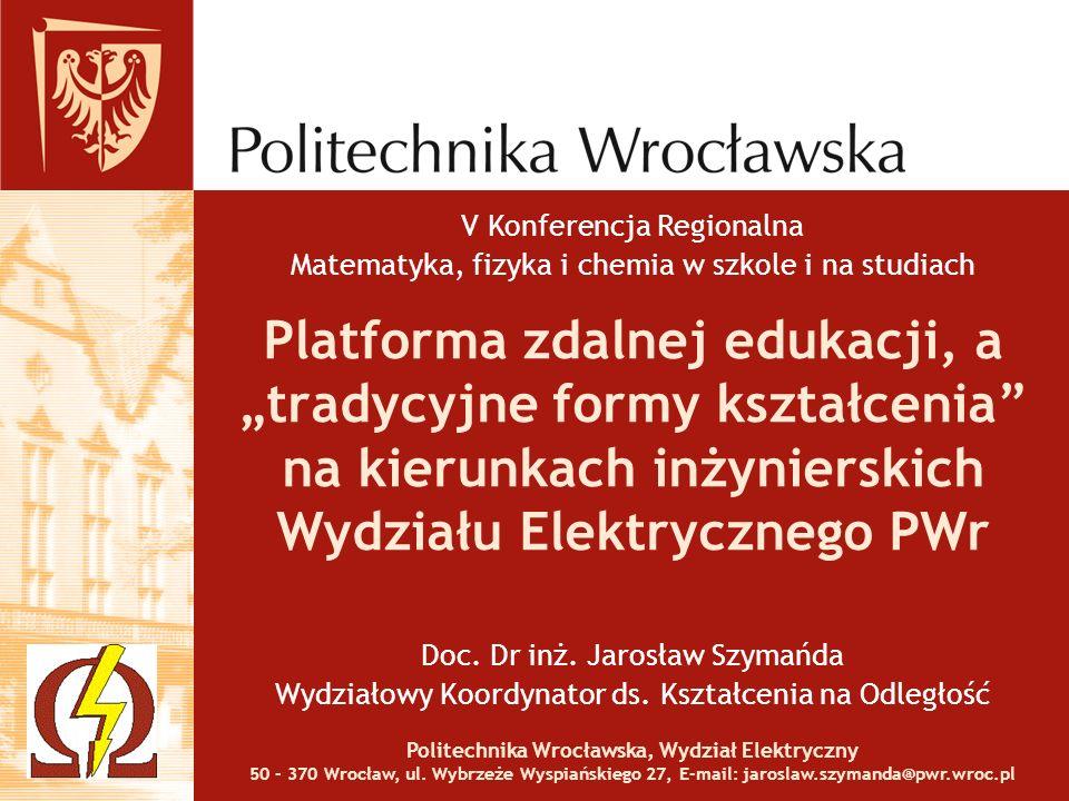 Politechnika Wrocławska, Wydział Elektryczny