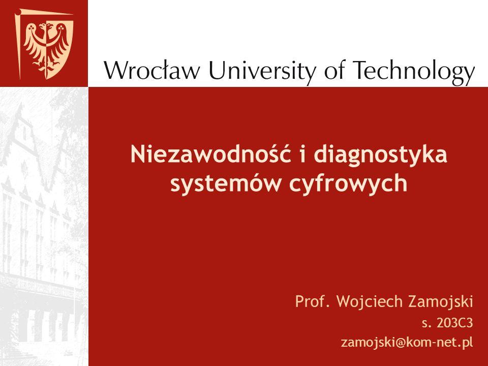 Niezawodność i diagnostyka systemów cyfrowych