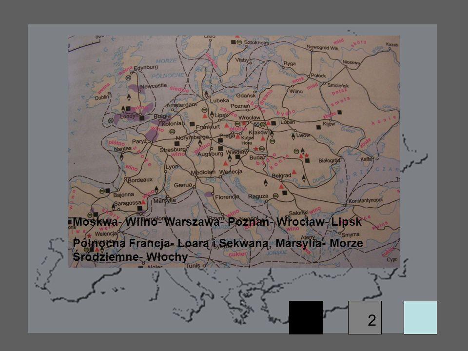 2 Moskwa- Wilno- Warszawa- Poznań- Wrocław- Lipsk