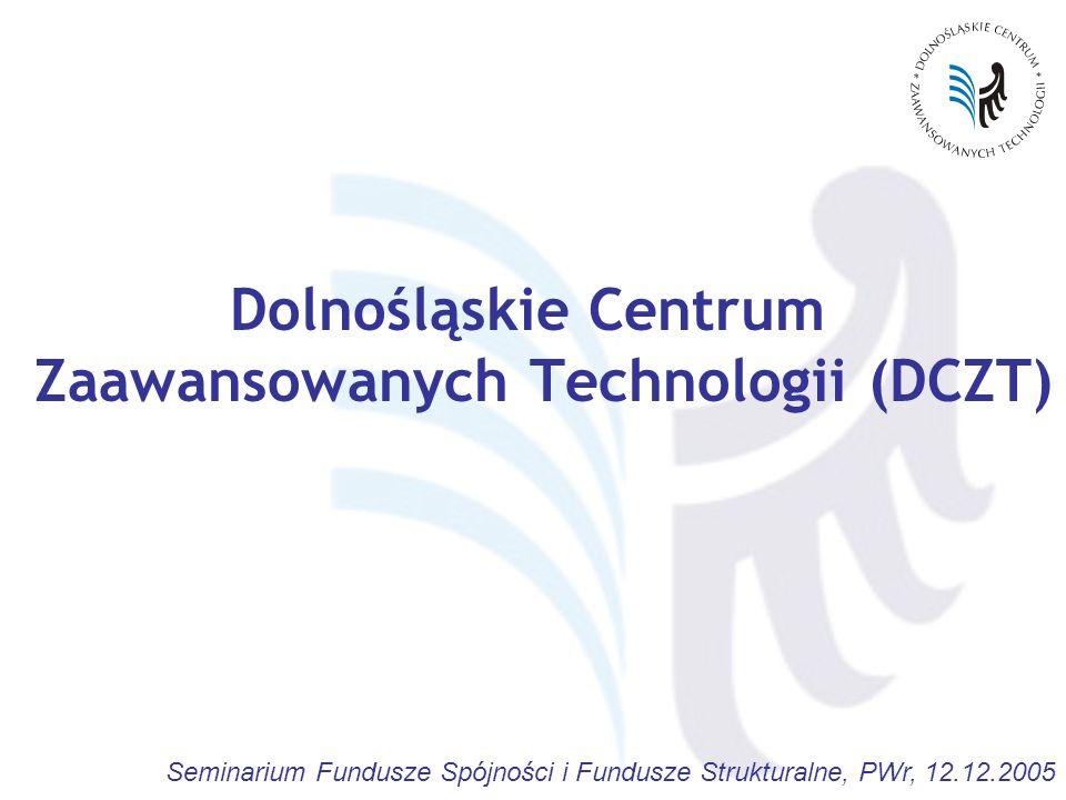 Dolnośląskie Centrum Zaawansowanych Technologii (DCZT)