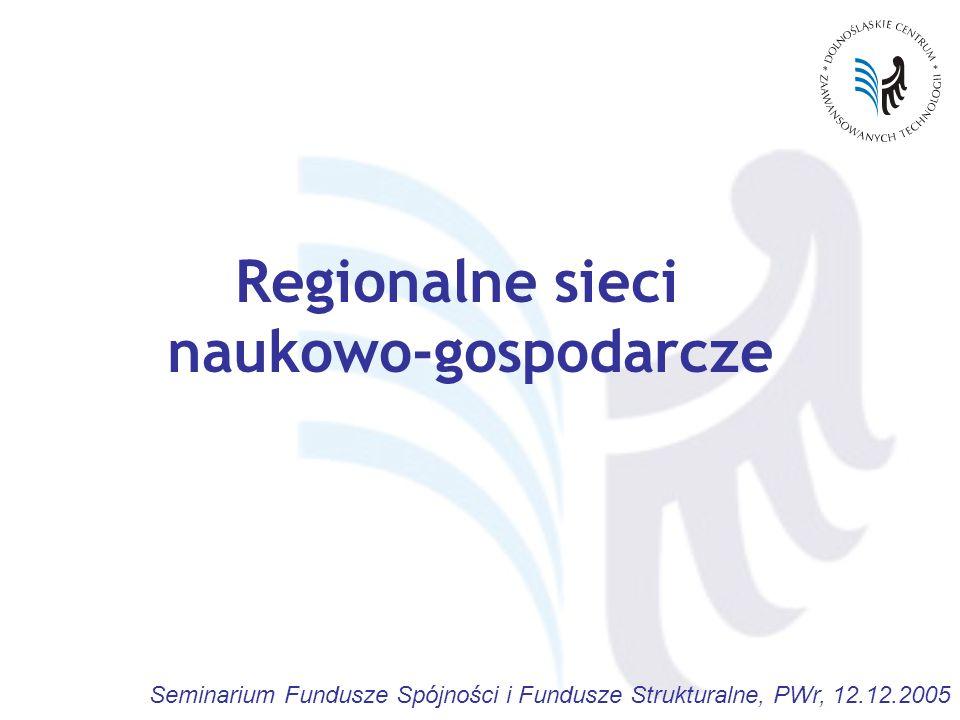 Regionalne sieci naukowo-gospodarcze