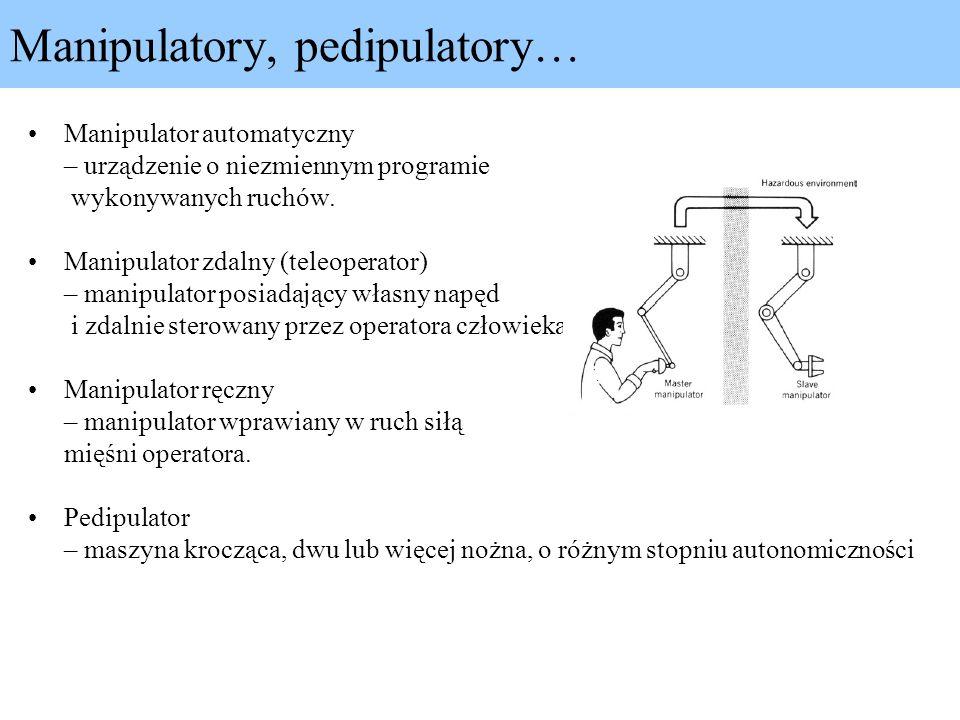 Manipulatory, pedipulatory…