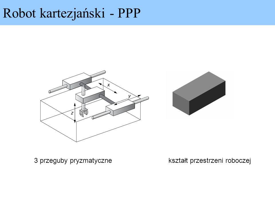 Robot kartezjański - PPP