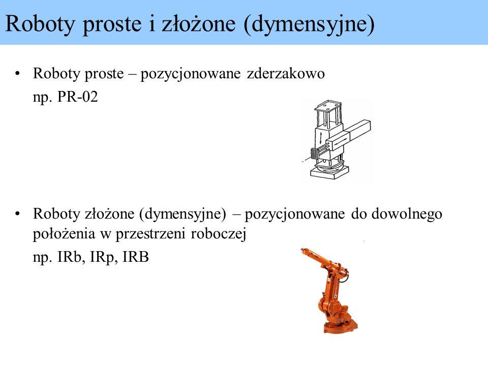 Roboty proste i złożone (dymensyjne)