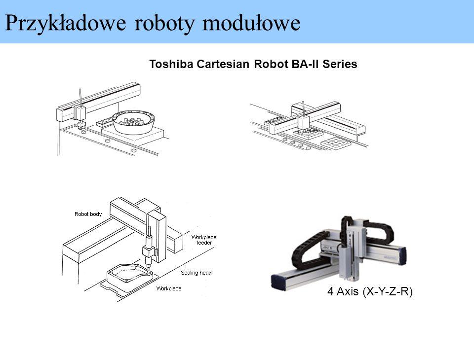Przykładowe roboty modułowe