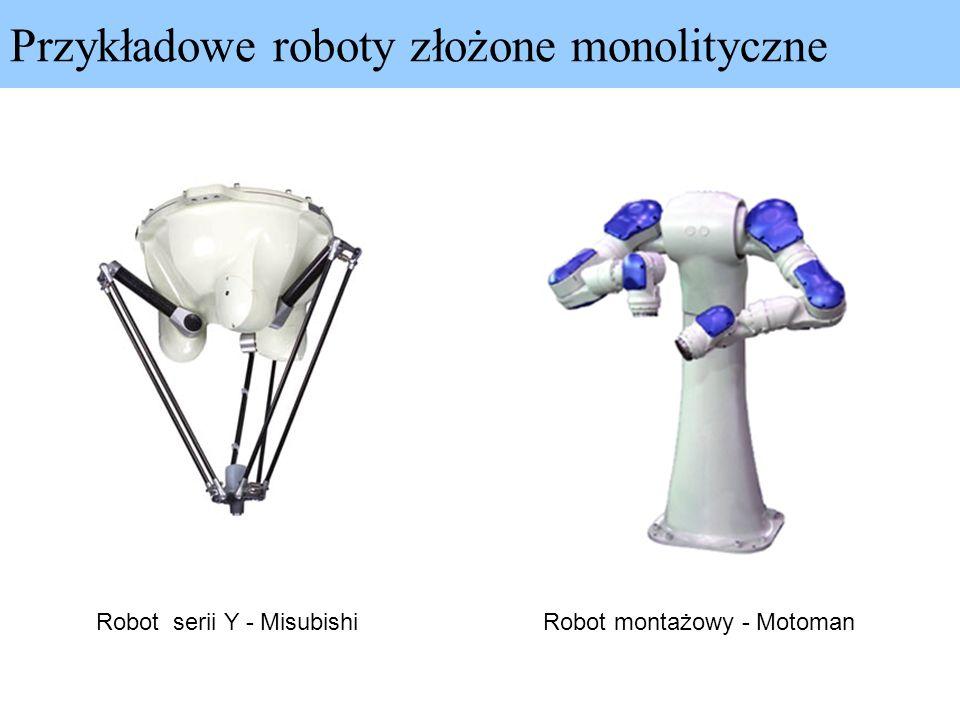 Przykładowe roboty złożone monolityczne