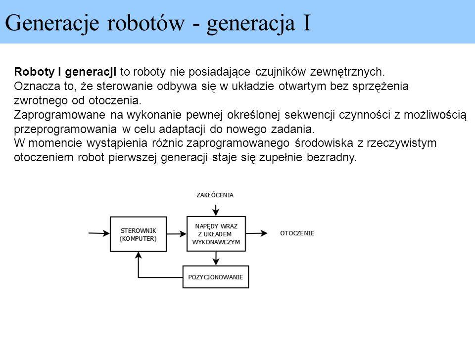 Generacje robotów - generacja I