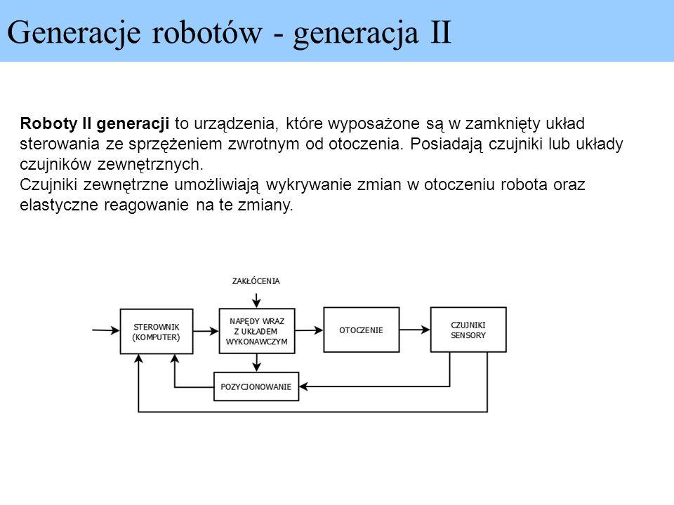 Generacje robotów - generacja II