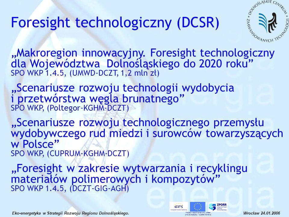 Foresight technologiczny (DCSR)