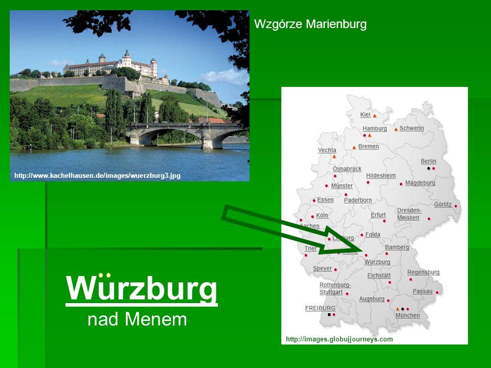 Wurzburg nad Menem Wzgórze Marienburg