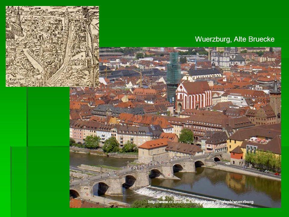 Wuerzburg, Alte Bruecke