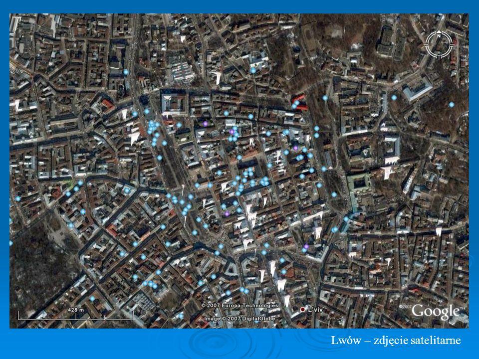 Lwów – zdjęcie satelitarne