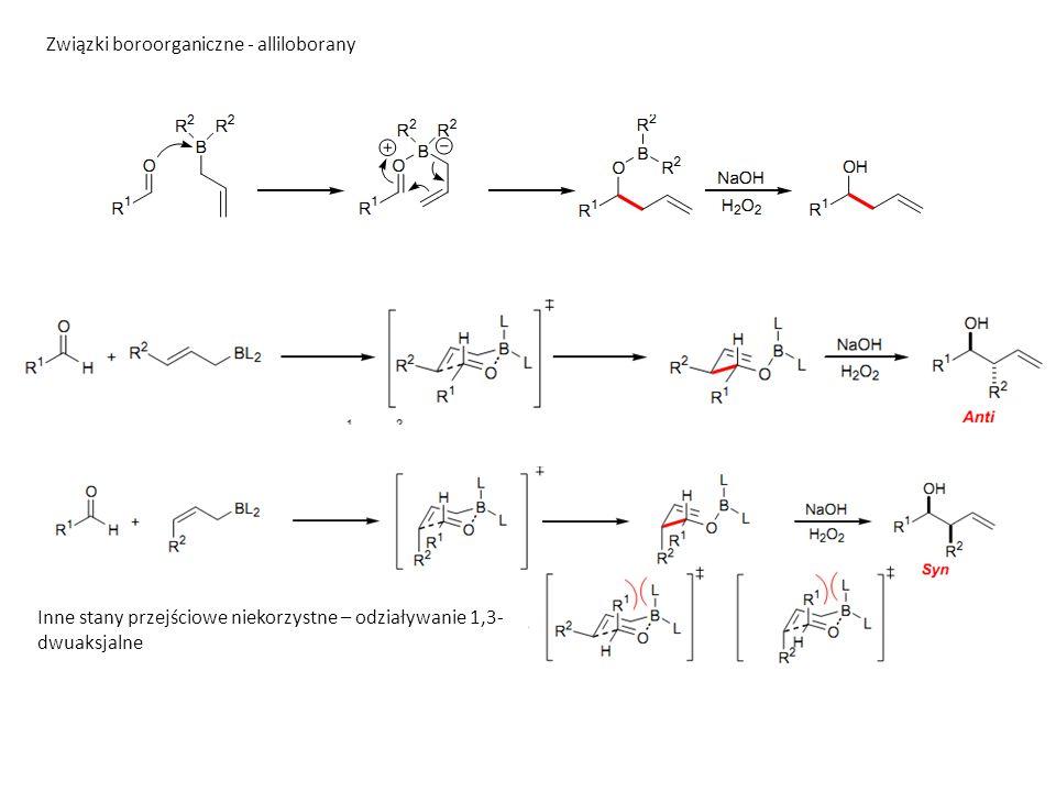 Związki boroorganiczne - alliloborany