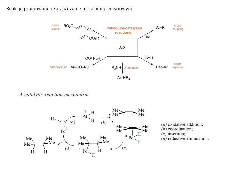 Reakcje promowane i katalizowane metalami przejściowymi