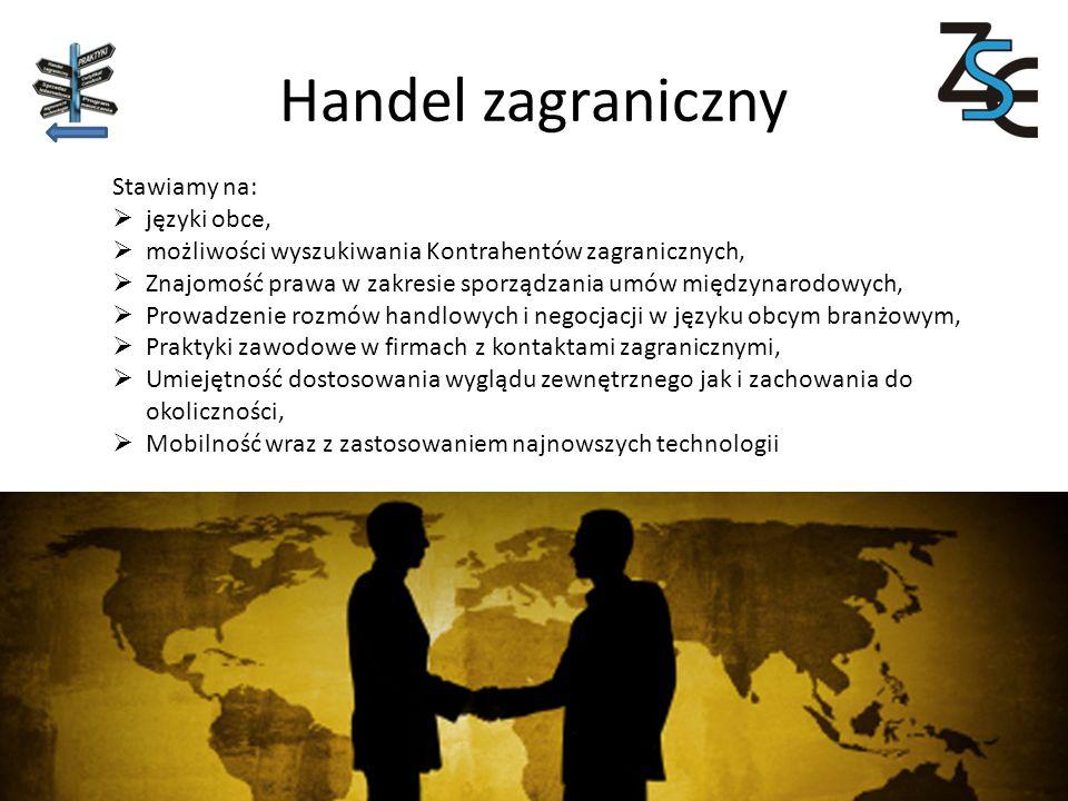 Handel zagraniczny Stawiamy na: języki obce,