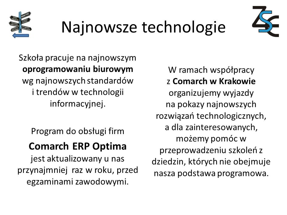 Najnowsze technologie