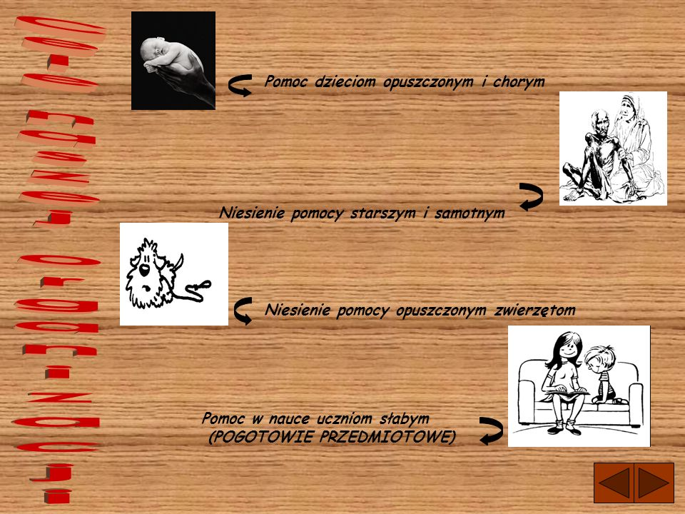 Cele naszej organizacji