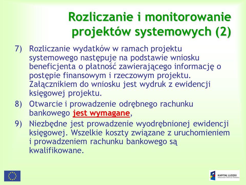 Rozliczanie i monitorowanie projektów systemowych (2)