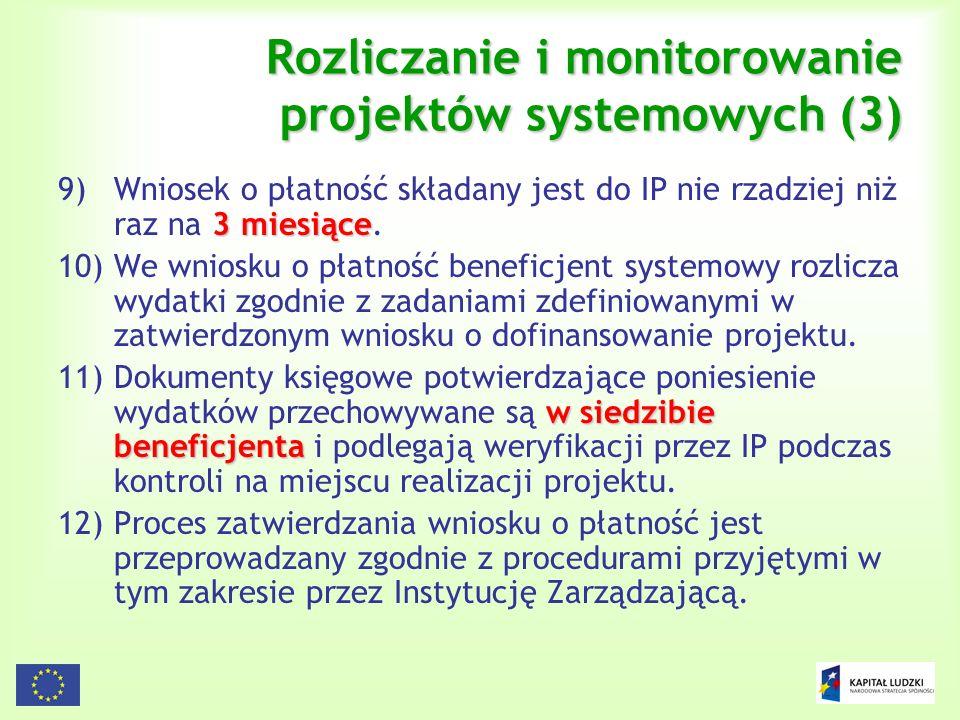 Rozliczanie i monitorowanie projektów systemowych (3)