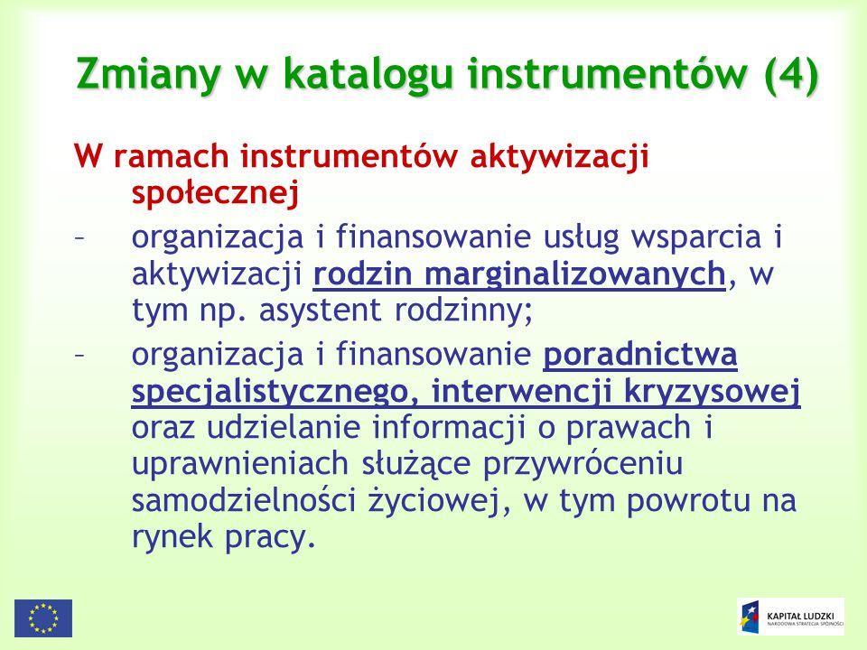 Zmiany w katalogu instrumentów (4)