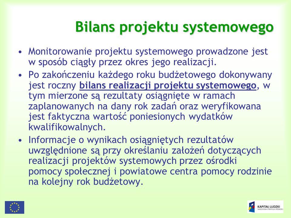 Bilans projektu systemowego