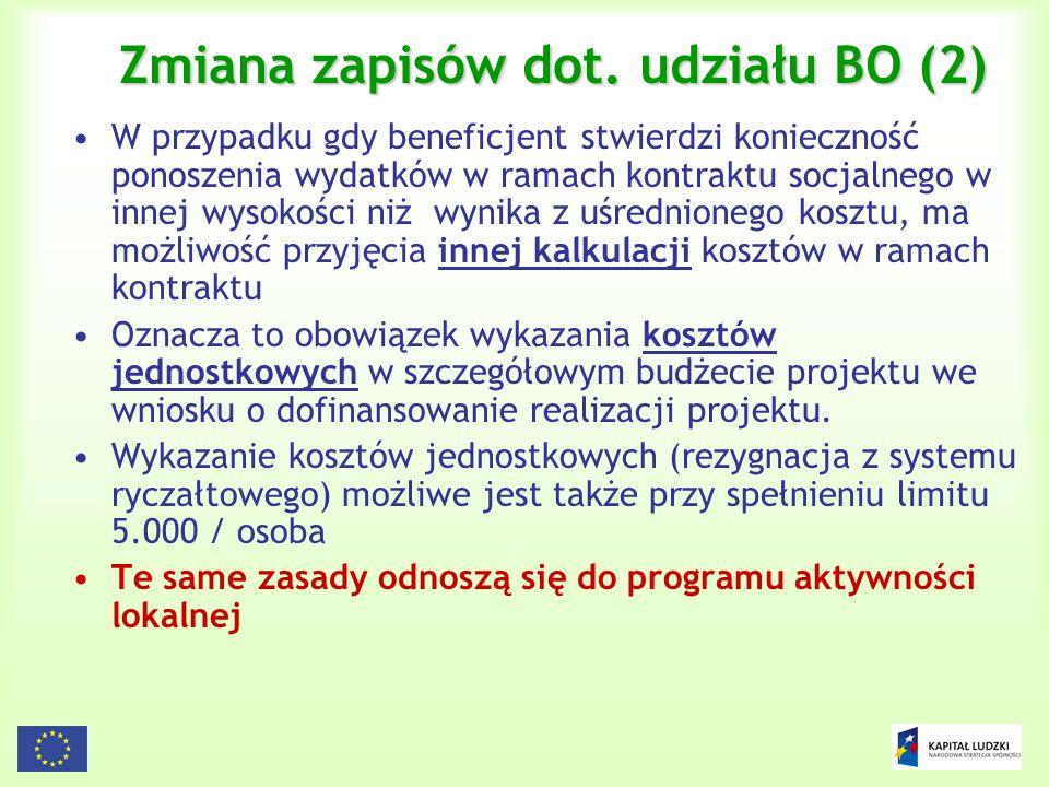 Zmiana zapisów dot. udziału BO (2)
