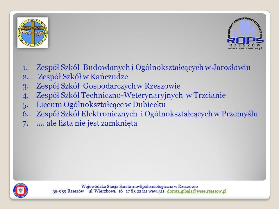 Wojewódzka Stacja Sanitarno-Epidemiologiczna w Rzeszowie