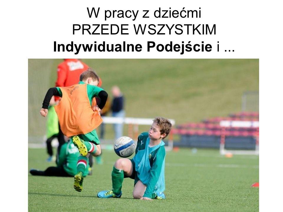 W pracy z dziećmi PRZEDE WSZYSTKIM Indywidualne Podejście i ...