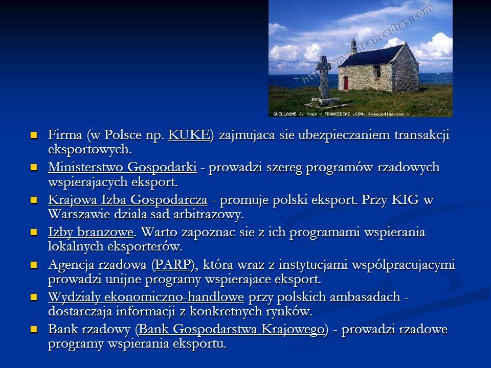 Firma (w Polsce np. KUKE) zajmujaca sie ubezpieczaniem transakcji eksportowych.