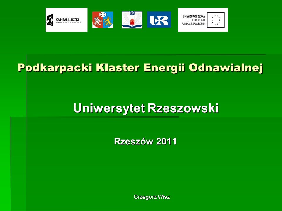Podkarpacki Klaster Energii Odnawialnej