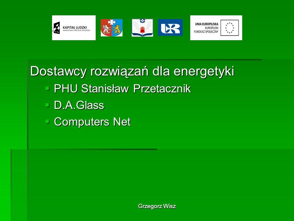 Dostawcy rozwiązań dla energetyki