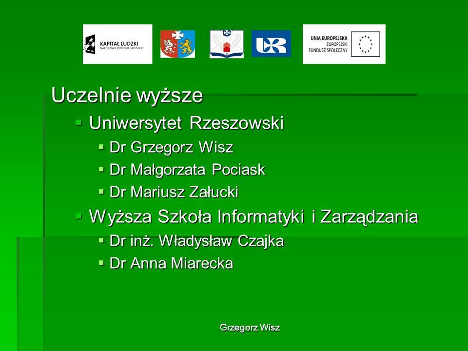 Uczelnie wyższe Uniwersytet Rzeszowski