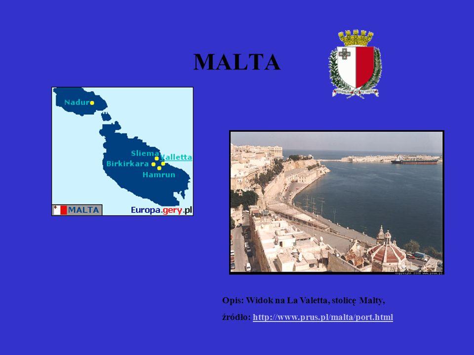 MALTA Opis: Widok na La Valetta, stolicę Malty,