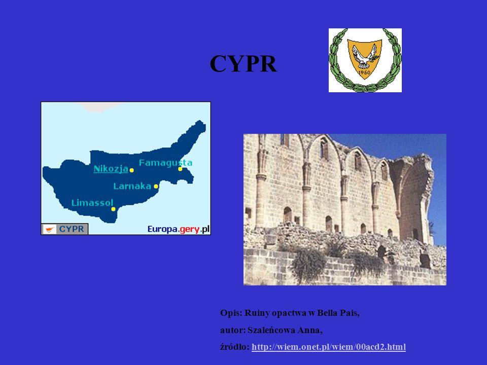 CYPR Opis: Ruiny opactwa w Bella Pais, autor: Szaleńcowa Anna,