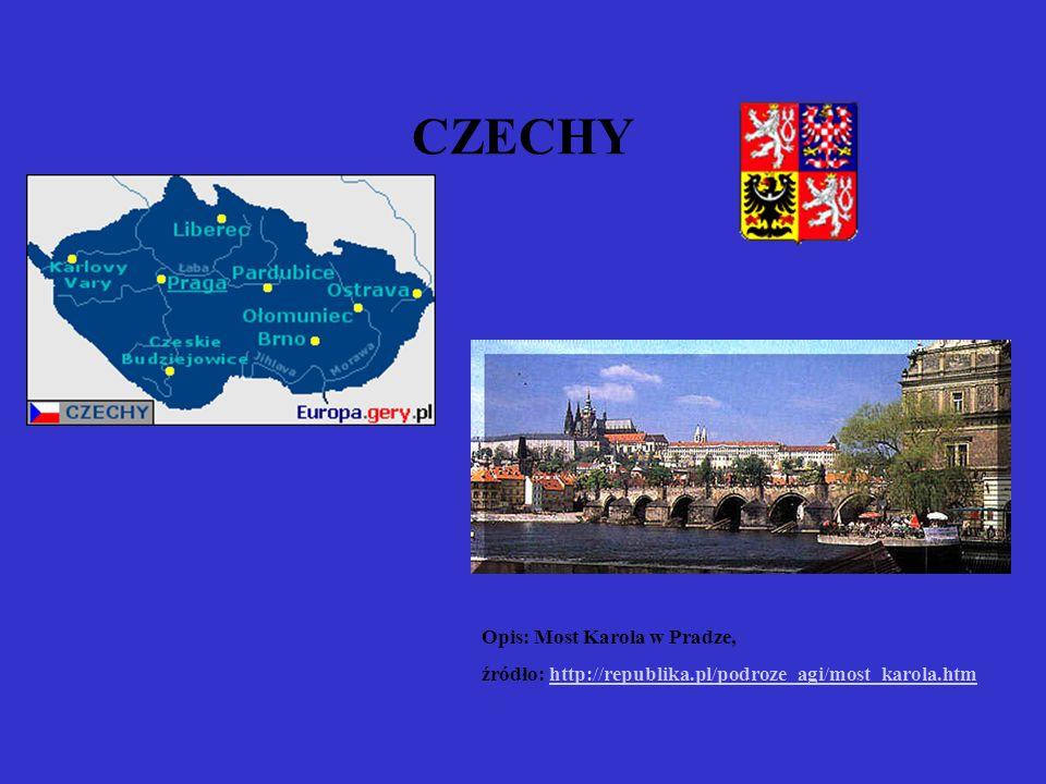 CZECHY Opis: Most Karola w Pradze,