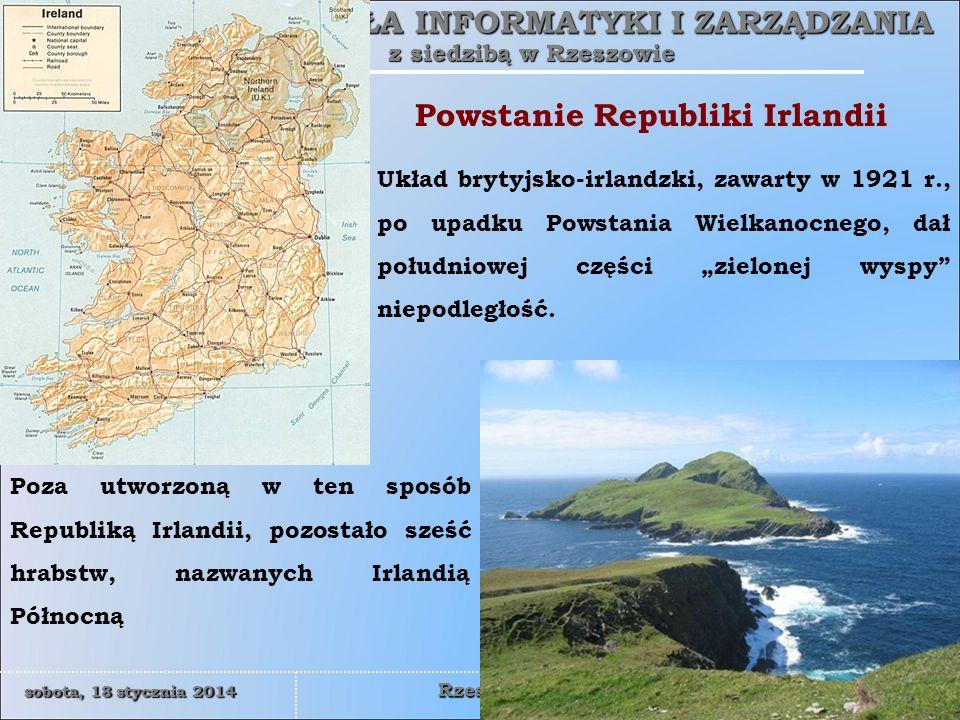 Powstanie Republiki Irlandii
