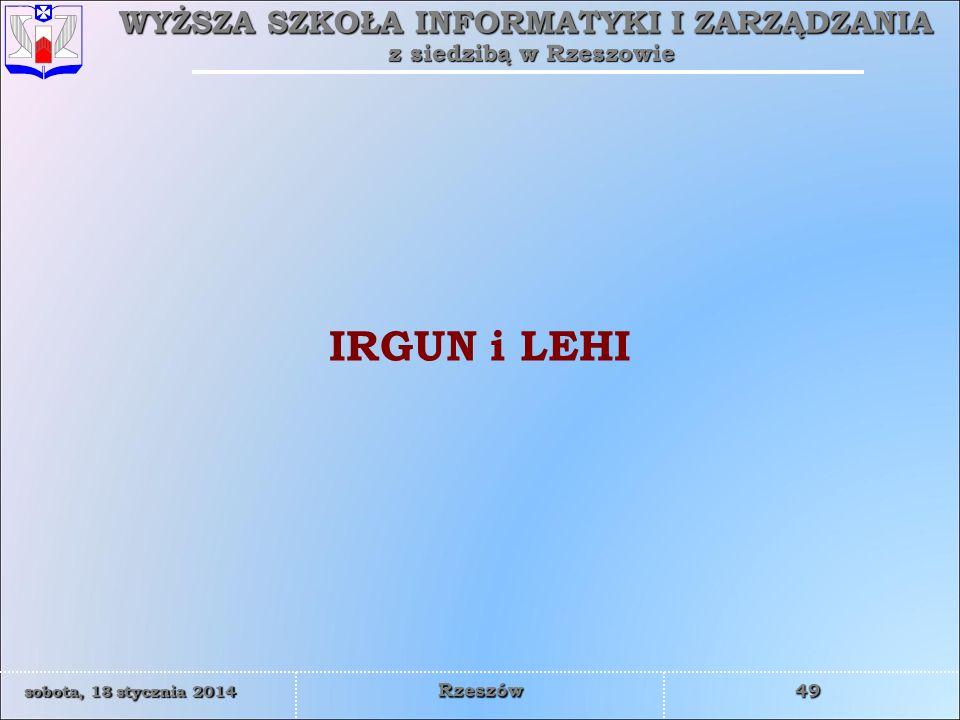 IRGUN i LEHI