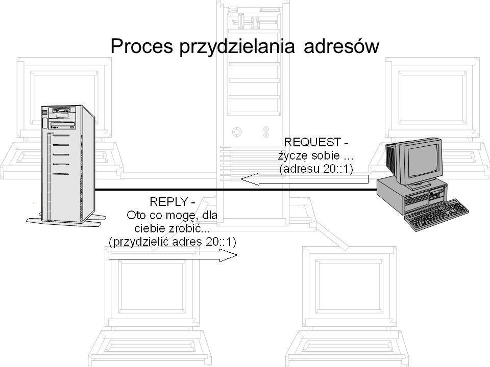 Proces przydzielania adresów
