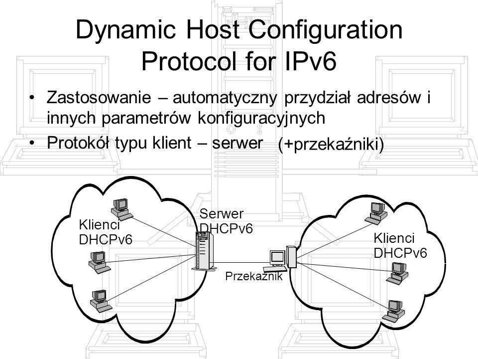 Dynamic Host Configuration Protocol for IPv6