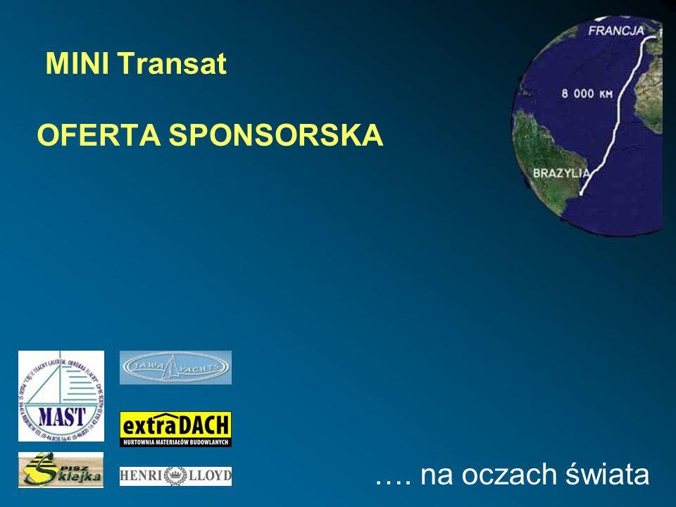 MINI Transat OFERTA SPONSORSKA