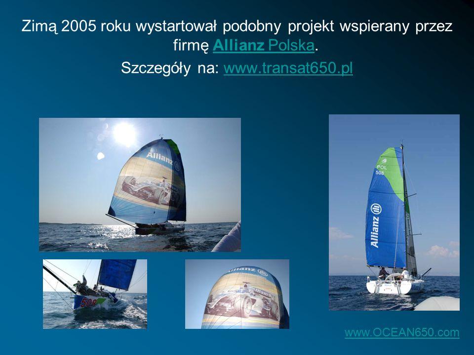 Szczegóły na: www.transat650.pl