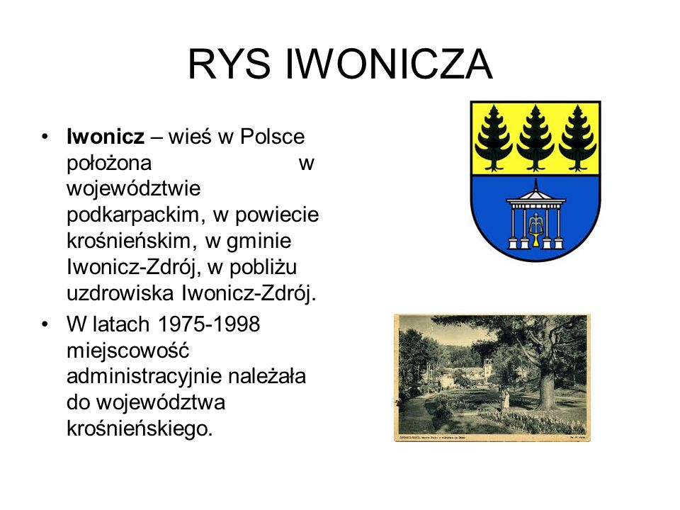 RYS IWONICZA
