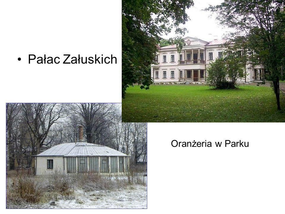 Pałac Załuskich Oranżeria w Parku