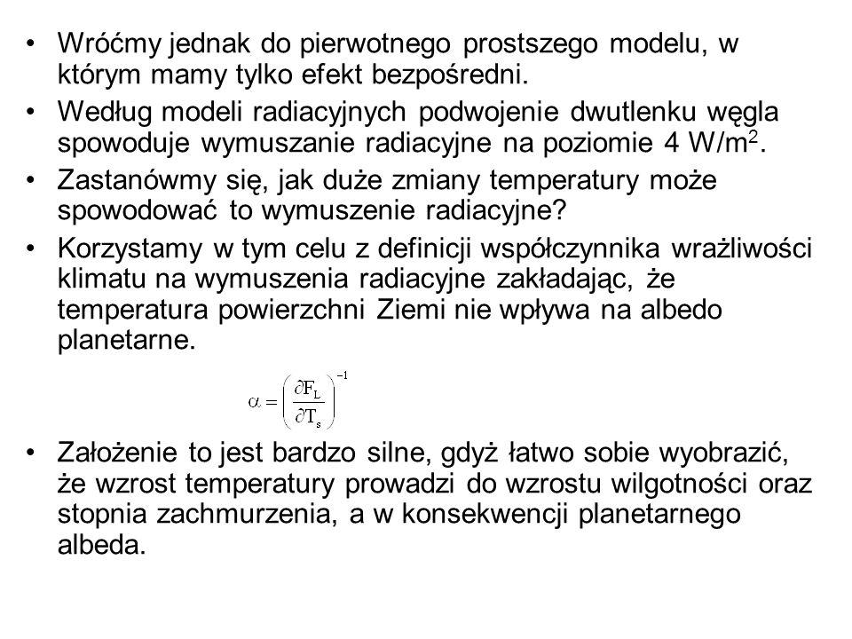 Wróćmy jednak do pierwotnego prostszego modelu, w którym mamy tylko efekt bezpośredni.